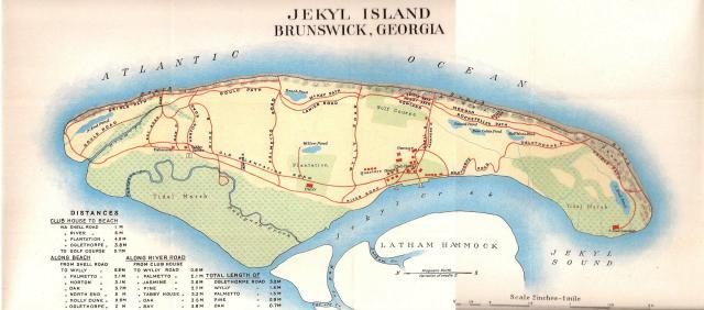 Untitled - Georgia map jekyll island